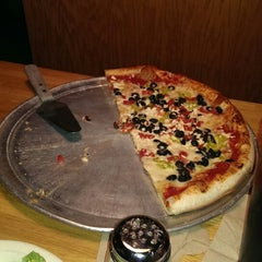 Photo taken at Mia's Pizza & Eats by Becky R. on 10/17/2014