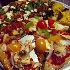 Photo taken at Pie Five Pizza Co. by Lauren Reed F. on 6/17/2013