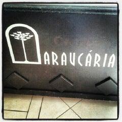 Photo taken at Fábrica Chocolate Araucária by Junior M. on 12/30/2012