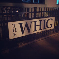 Photo taken at The Whig by Stephanie C. on 9/28/2013