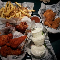 Photo taken at Wingstop by Angela on 10/29/2012