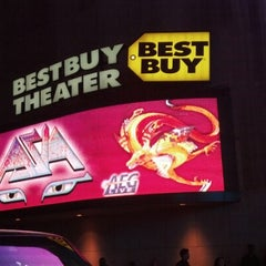 Photo taken at Best Buy Theater by Ken P. on 10/27/2012