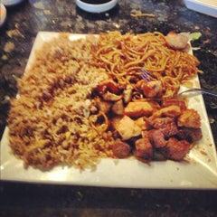 Photo taken at Saga Steakhouse & Sushi Bar by Brandon T. on 10/11/2012