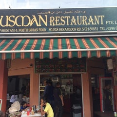 Photo taken at Usman Restaurant by Cheen T. on 9/14/2014