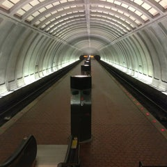 Photo taken at Cleveland Park Metro Station by Bud on 7/1/2013