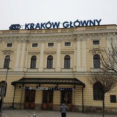 Photo taken at Kraków Główny by Kasia Y. on 3/18/2013