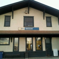Photo taken at Vancouver Amtrak Station (VAN) by Uptown S. on 10/30/2012