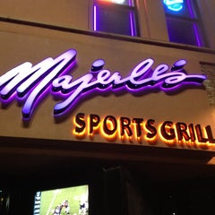 Photo taken at Majerle's Sports Grill by Derk P. on 1/15/2013
