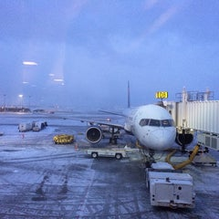 Photo taken at Concourse D by Derk P. on 2/4/2014
