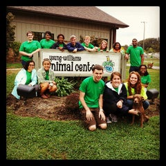 Photo taken at Young Williams Animal Shelter by Blake R. on 10/17/2013