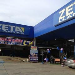 Photo taken at Zeta Llantas by Melissa I. on 3/20/2013