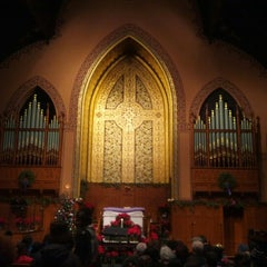 Photo taken at Middle Collegiate Church by Kyle S. on 12/25/2012