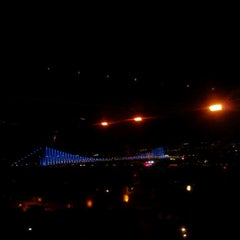 Photo taken at Conrad Roof Bar by mebrure .. on 5/21/2013