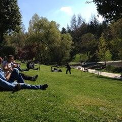 Photo taken at Seğmenler Parkı by Murat on 4/13/2013
