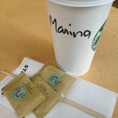 Photo taken at Starbucks by Marina D. on 3/18/2013