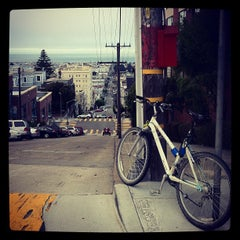 Photo taken at Webster Stair Run by Johan on 9/14/2012