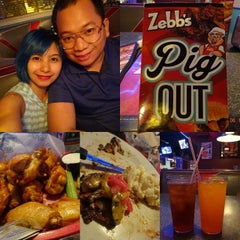 Photo taken at Zebb's Deluxe Grill & Bar by Tal Y. on 6/19/2015