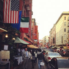 Photo taken at Little Italy by Momo W. on 9/30/2012