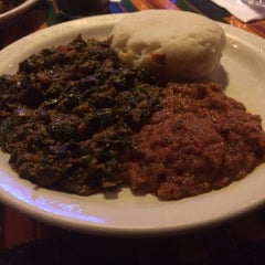 Photo taken at Ghana Cafe by Melia P. on 4/10/2014