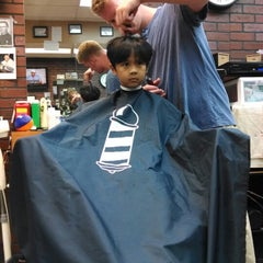 Photo taken at Vinny's Barber Shop by Nicolas C. on 6/11/2014