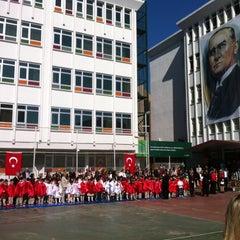 Photo taken at Bostancı Doğa Koleji by Murat K. on 4/23/2013