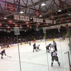 Photo taken at Lynah Rink by Daniel G. on 11/3/2012