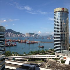 Photo taken at HSBC Centre 匯豐中心 by Andrey B. on 6/19/2013