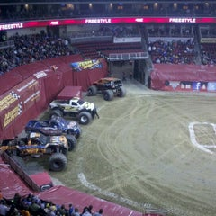 Photo taken at Wells Fargo Arena by Kari R. on 1/5/2013