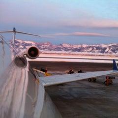 Photo taken at Bozeman Yellowstone International Airport (BZN) by Elizabeth F. on 1/20/2013