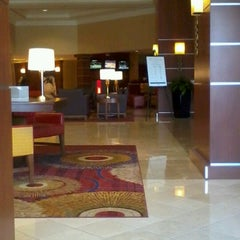 Photo taken at Marriott Cleveland Airport by Mauro S. on 4/9/2013