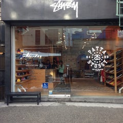 Photo taken at Stussy New York by Digi A. on 2/4/2014
