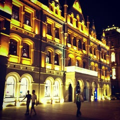 Photo taken at 和平饭店 | Fairmont Peace Hotel by C Jay on 7/23/2013