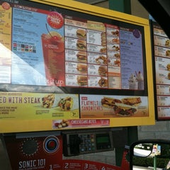 Photo taken at SONIC Drive In by George B. on 10/12/2012