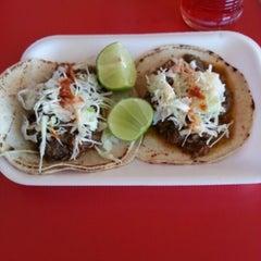 Photo taken at Taqueria El Chino by Salvador P. on 12/24/2012