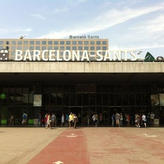 Photo taken at Sants Estació by Daniel on 7/13/2013