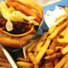 Photo taken at Elevation Burger by Ross on 3/8/2013