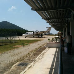Photo taken at Redang Island Airport (RDN) by azarudeen a. on 2/14/2014