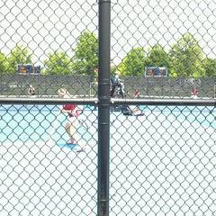Photo taken at Atkins Tennis Center by Nicholas S. on 5/19/2013