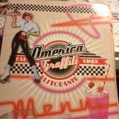 Photo taken at America Graffiti by Martina B. on 10/2/2012