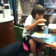 Photo taken at Lulu's Frozen Yogurt by Jeff v. on 10/10/2012