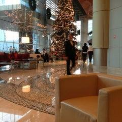 Photo taken at Kempinski Grand Hotel by Abdulrahman A. on 12/7/2012
