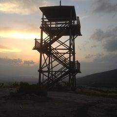 Photo taken at Ciceklikoy Yangin Kulesi by Levent A. on 12/1/2012