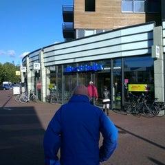 Photo taken at Albert Heijn by Luc D. on 10/6/2012