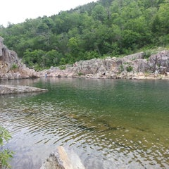 Photo taken at Johnson's Shut-Ins State Park by Betty L. on 6/26/2013