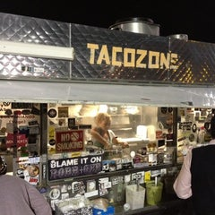 Photo taken at Taco Zone by Stephanie W. on 10/31/2012