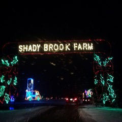 Photo taken at Shady Brook Farm by Sarah S. on 12/25/2012