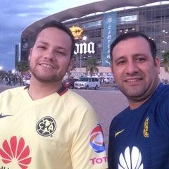 Photo taken at Territorio Santos Modelo Estadio by DaVo B. on 8/15/2015