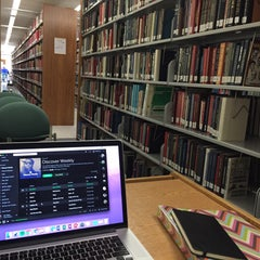 Photo taken at Walter Clinton Jackson Library by Hannah W. on 10/6/2015