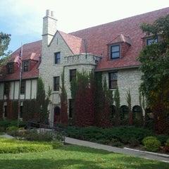Photo taken at Beta Theta Pi by Bob S. on 10/9/2012