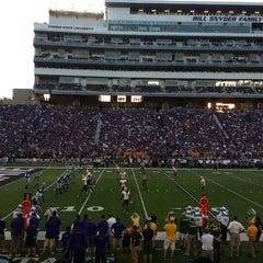 Photo taken at Bill Snyder Family Stadium by Bob S. on 8/31/2013